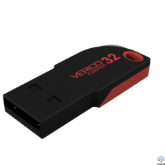Verico USB 16Gb Keeper Black+Red