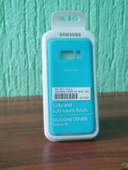 ЧЕХОЛ ДЛЯ МОБ. ТЕЛЕФОНА SAMSUNG ДЛЯ GALAXY S8 (G950) SILICONE COVER LIGHT TAHOE BLUE