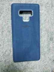 ЧЕХОЛ  SAMSUNG  GALAXY NOTE 9 (N960) ALCANTARA COVER DARK BLUE (EF-XN960ALEGRU)