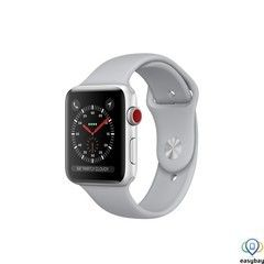 Apple Watch Series 3 GPS + Cellular 42mm Silver Aluminum w. Fog Sport B. (MQK12)