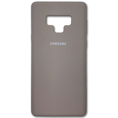 Чехол Silicone Cover for Samsung Note 9 Lavander