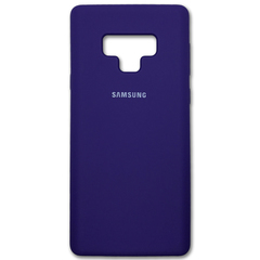 Чехол Silicone Cover for Samsung Note 9 Purple