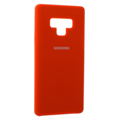 Чехол Silicone Cover for Samsung Note 9 Orange