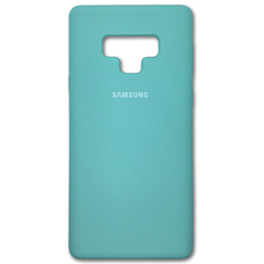 Чехол Silicone Cover for Samsung Note 9 Torquoise