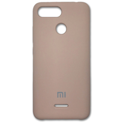 Чехол Silicone Cover for Xiaomi Redmi 6 Pink Sand