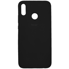 Чехол Silicone Case Full for Honor 8X Black