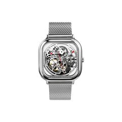 Xiaomi CIGA Design Hollowed-out Mechanical Watch Silver (Z011-SISI-13)