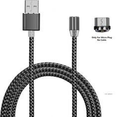 Кабель Магнитный X-Cable Magnetic-360 MicroUSB Black