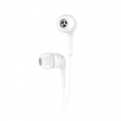 Наушники Hoco M40 Prosody universal earphones with microphone White