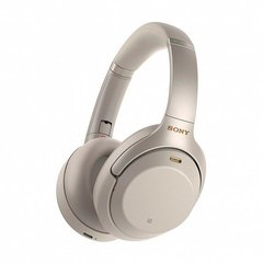 Sony Noise Cancelling Headphones Silver (WH-1000XM3)